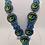 Thumbnail: Multi Rainbow Eye Necklace