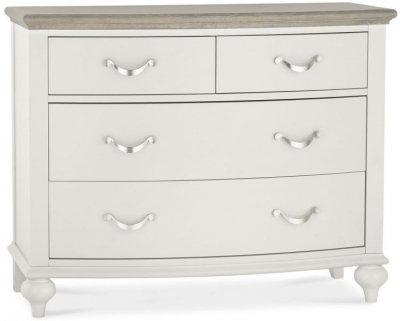 Montreux Grey Washed Oak and Soft Grey 2+2 Drawer Chest