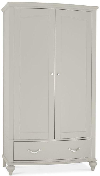 Montreux Urban Grey 2 Door Double Wardrobe
