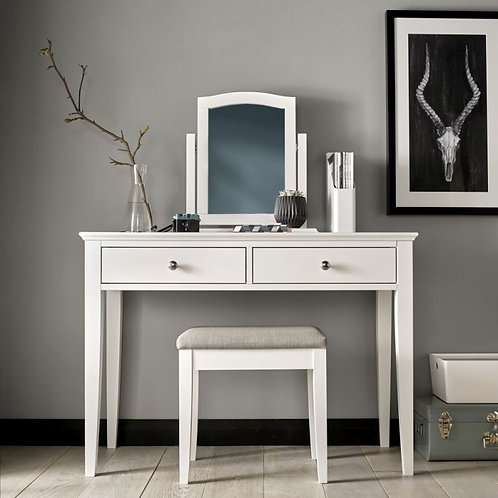 Ashby White Vanity Mirror