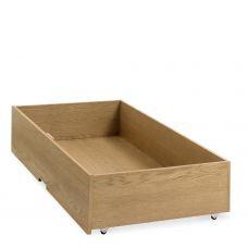 atlanta oak underbed drawer