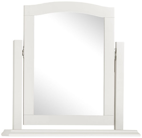 Ashby White Vanity Mirror