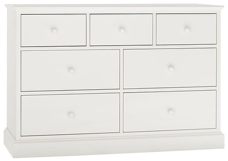 Ashby White 3+4 Drawer Chest