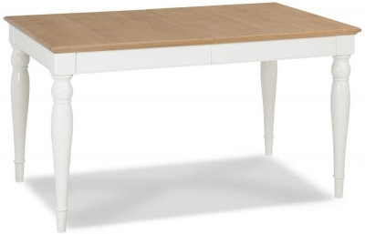 Hampstead 4-6 Two Tone Rectangular Extending Dining Table