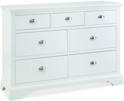 Hampstead White 3+4 Drawer Chest