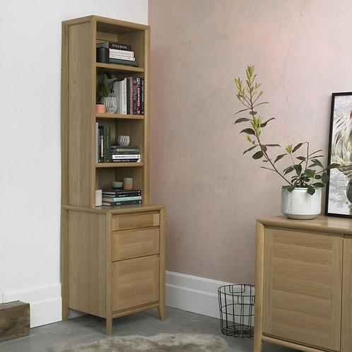 Bergen Oak 3 Drawer Filing Cabinet