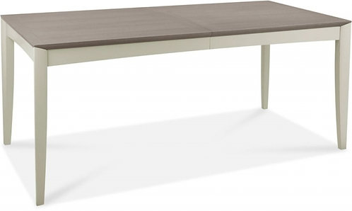 Bergen Grey Washed Oak and Soft Grey 6-8 Seater Rectangular ExtendingTable