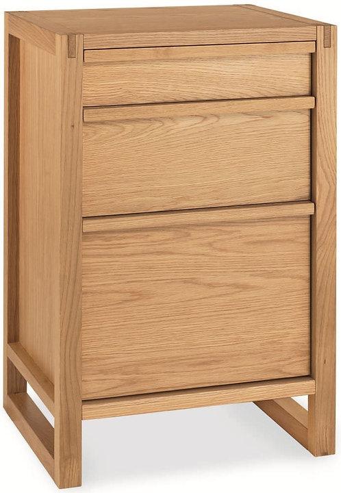 Home Office Oak Filing Cabinet