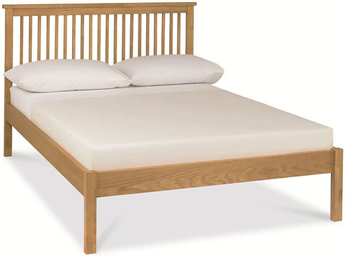 atlanta oak low foot end bedstead double