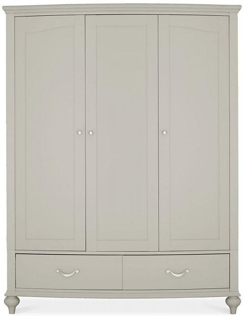 Montreux Urban Grey 3 Door Triple Wardrobe