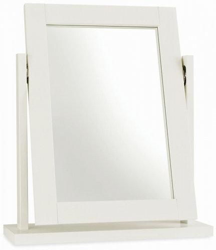 Atlanta Soft White Mirror