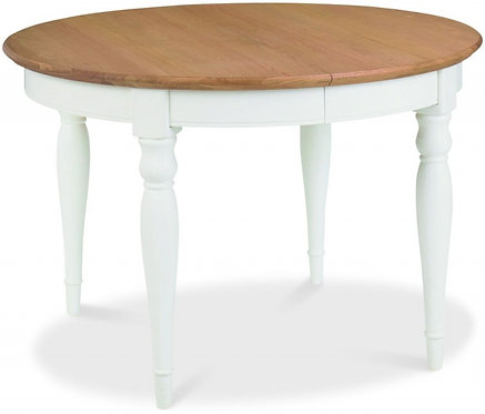 Hampstead 4-6 Two Tone Round Table
