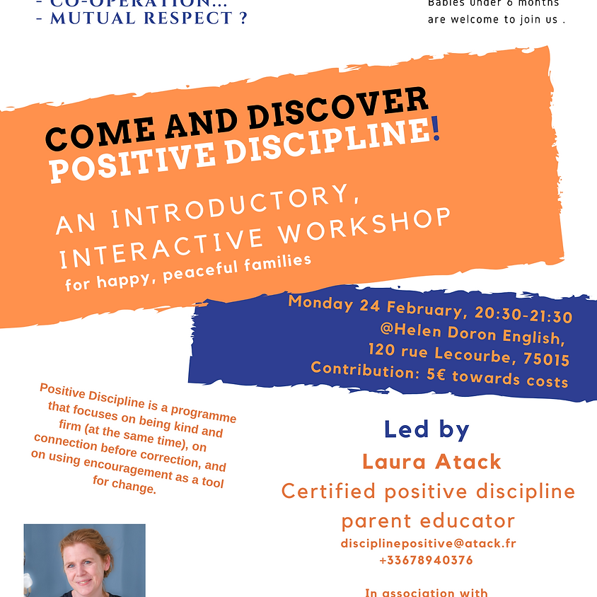 Parenting - Introductory workshop hosted by English Speaking Mums