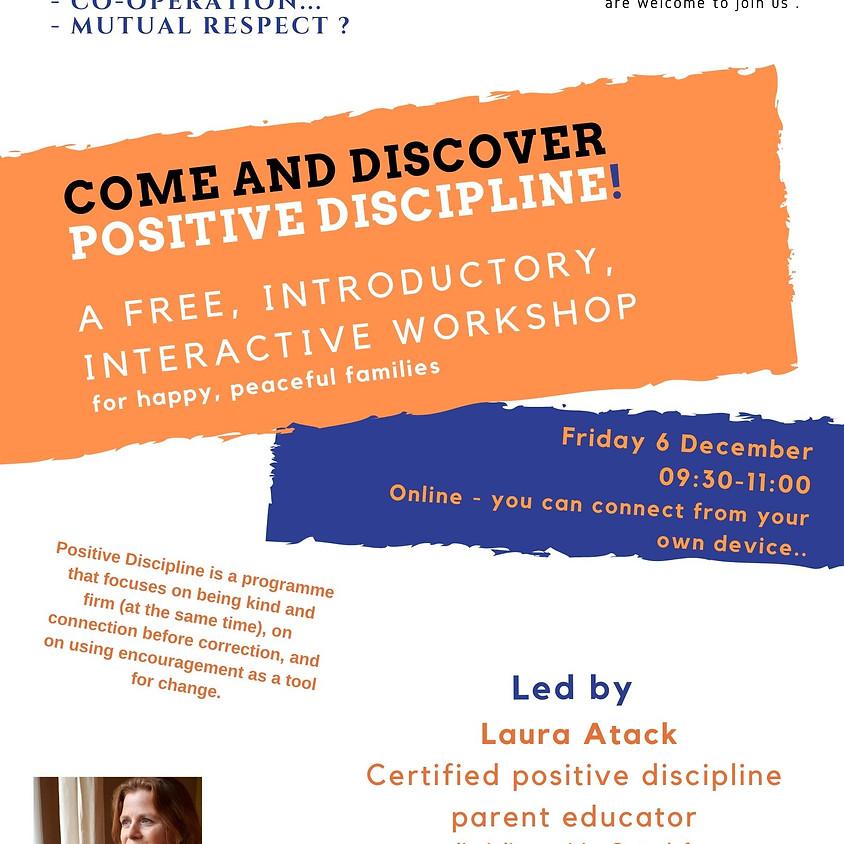 Parenting - free online introductory workshop