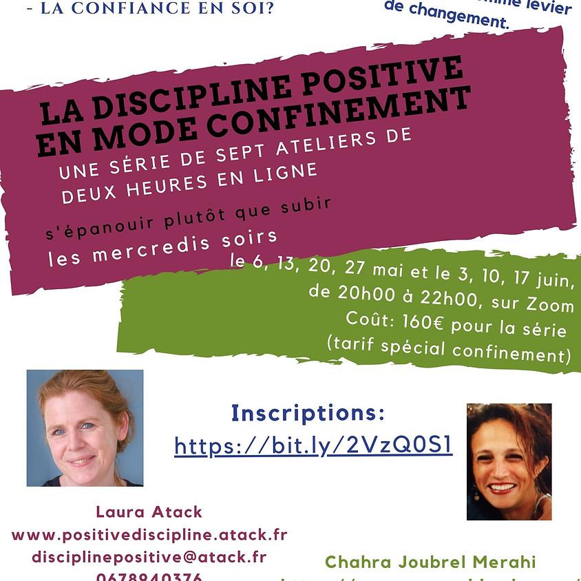 Série d'ateliers Discipline Positive - en mode visio-conférence!