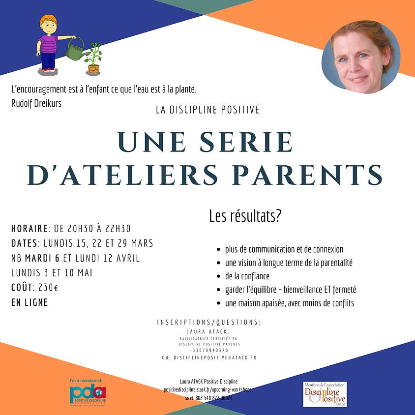 Ateliers parents - Serie de 7