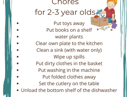 Help! How to get my child loving chores and helping at home?