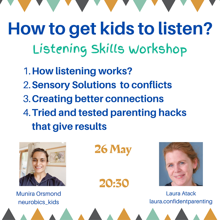 How to get your kids to listen to you?