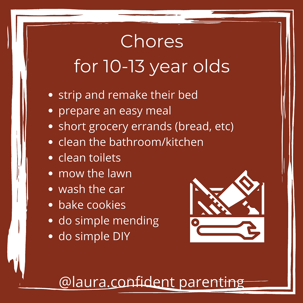 chores for teenagers