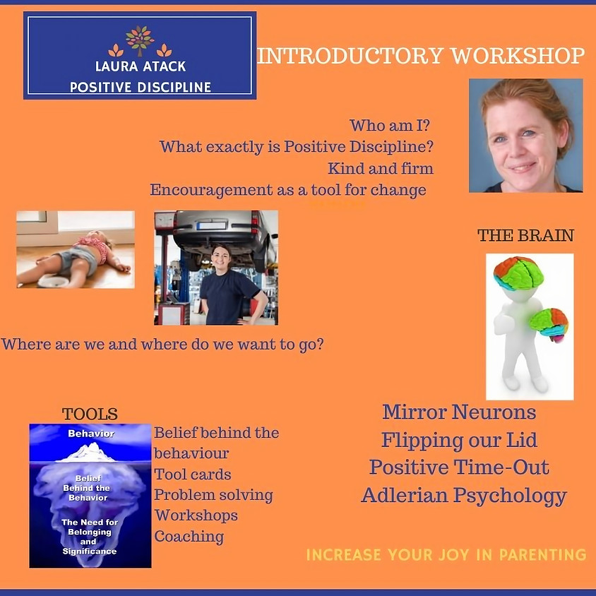 Introduction to Positive Discipline - evening online in October