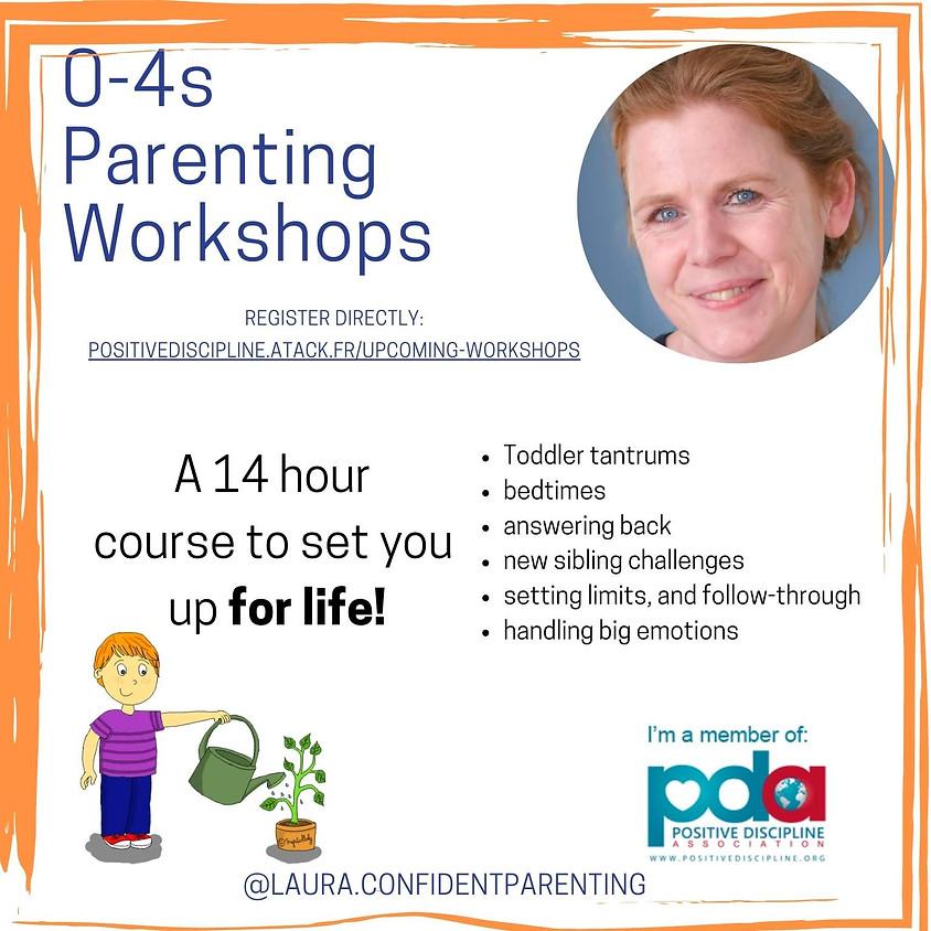 Under 5s Parenting Workshops - series of 7 (May/June)