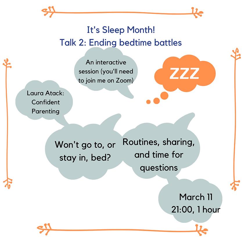 Sleep! Ending bedtime battles