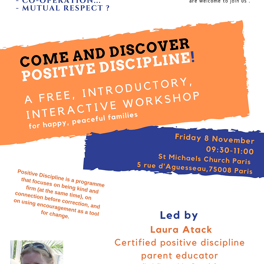 Parenting - free introductory workshop