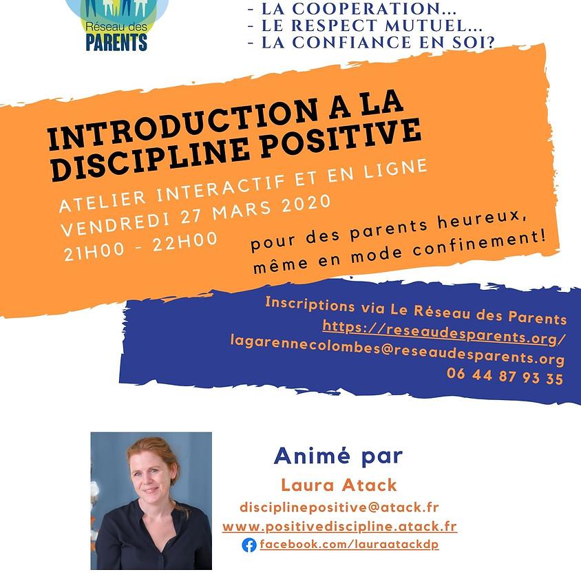 Introduction à la Discipline Positive - en mode visio-conférence!