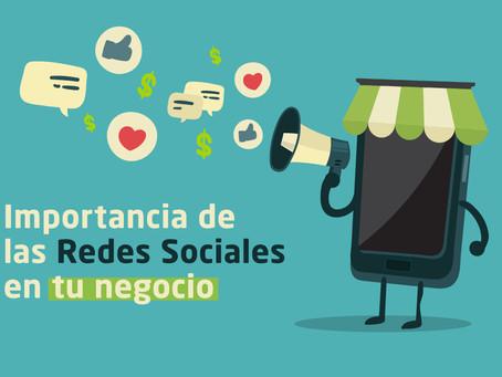 Importancia de las redes sociales para tu negocio
