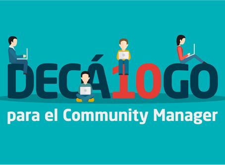 Decálogo para el Community Manager