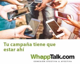 Whatsapp en campaña ¿Cómo?
