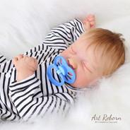 Bebê feito a partir do kit Levi 💙 _Disp