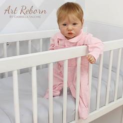Bebê Bela 💕 feita a partir do kit Saski