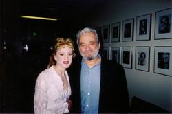 Lisa & Stephen Sondheim
