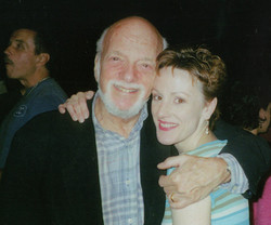 Lisa with Hal Prince