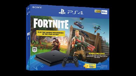Playstation 4 500 GB + Fortnite Bundle
