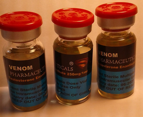 Testosterone enanthate 10ml vial (250mg/1ml)