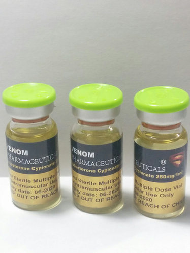 Testosterone Cypionate 10ml vial (250mg/1ml)