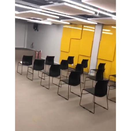 Auditório da Escola Eleva em Brasília