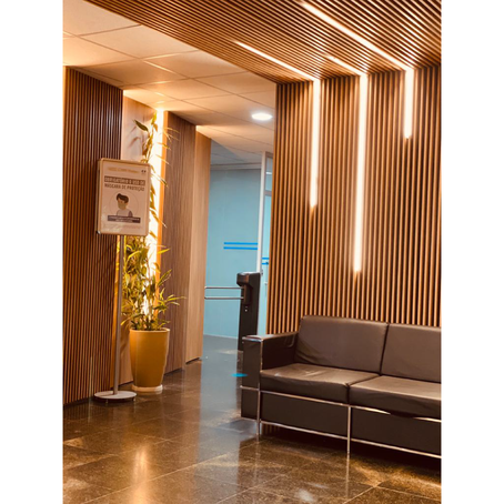 Foyer de acesso da sede da ANELL