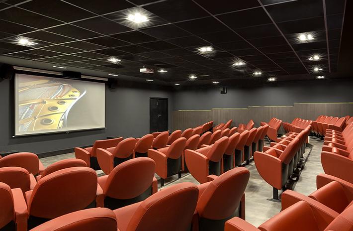 Sala de cinema IESB