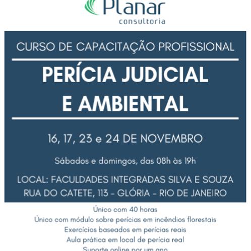 Perícia Judicial e Ambiental - Rio de Janeiro - RJ