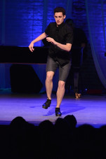 Tony-Award Winner, Trent Kowalik, performing at Lyrics for Life.