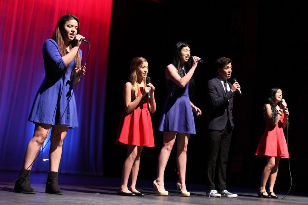 The Curda family singing an original song dedicated to Veterans