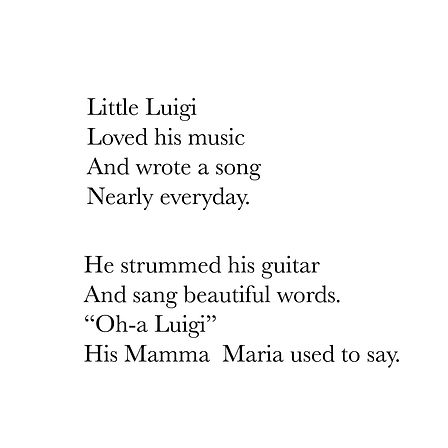 Little Luigi (A musical adventure) (drag