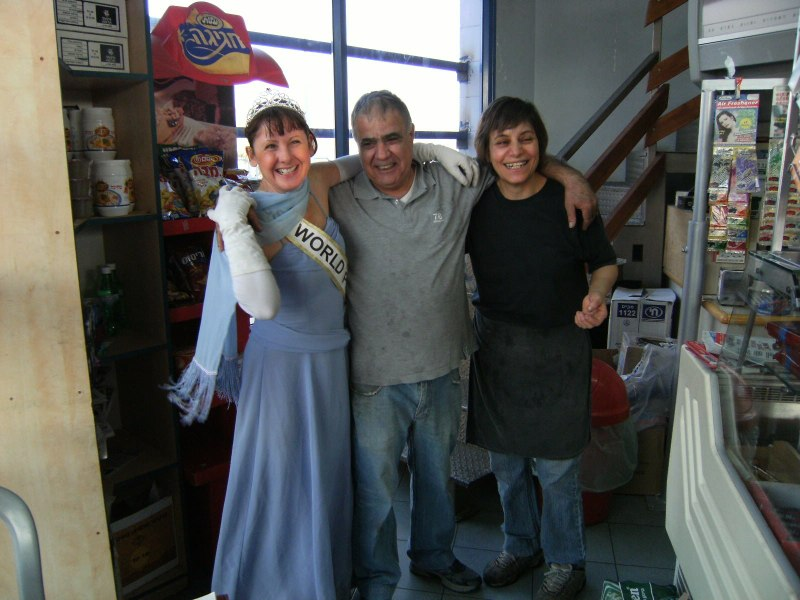 The local Druze couple who run a sma