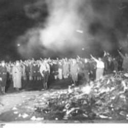Book Burning, Berlin, 1933