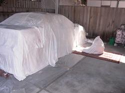 Sacred car and Buddha