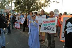 Sheikh Jarrah weekly protest East Je