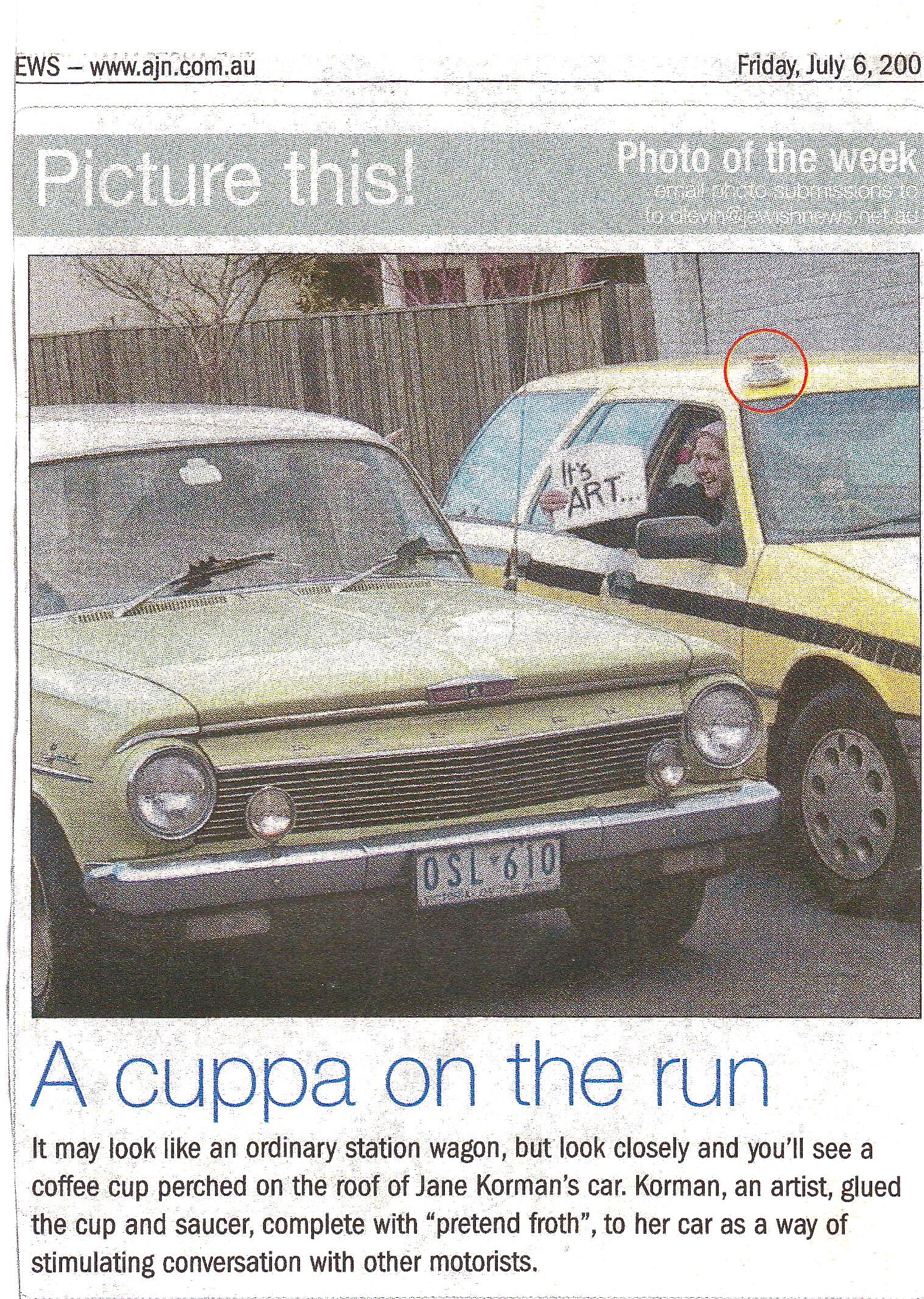 Cuppa on the run
